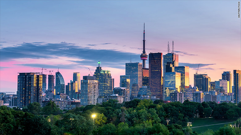 amazon hq2 cities toronto