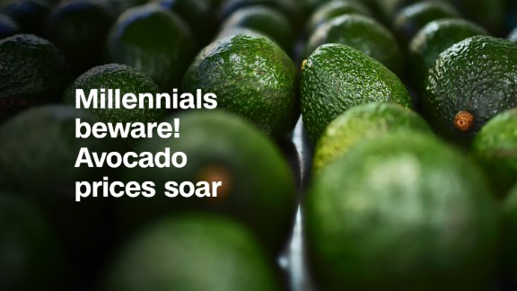Avocado prices have soared 125% this year