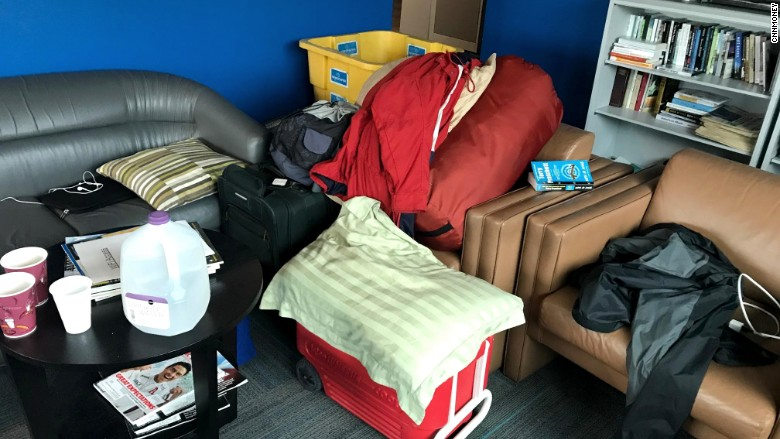 instory hurricane irma sleeping bag