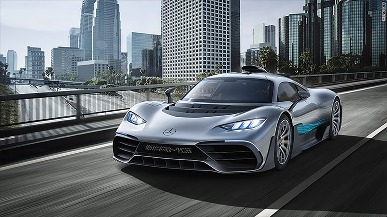 mercedes amg project one front