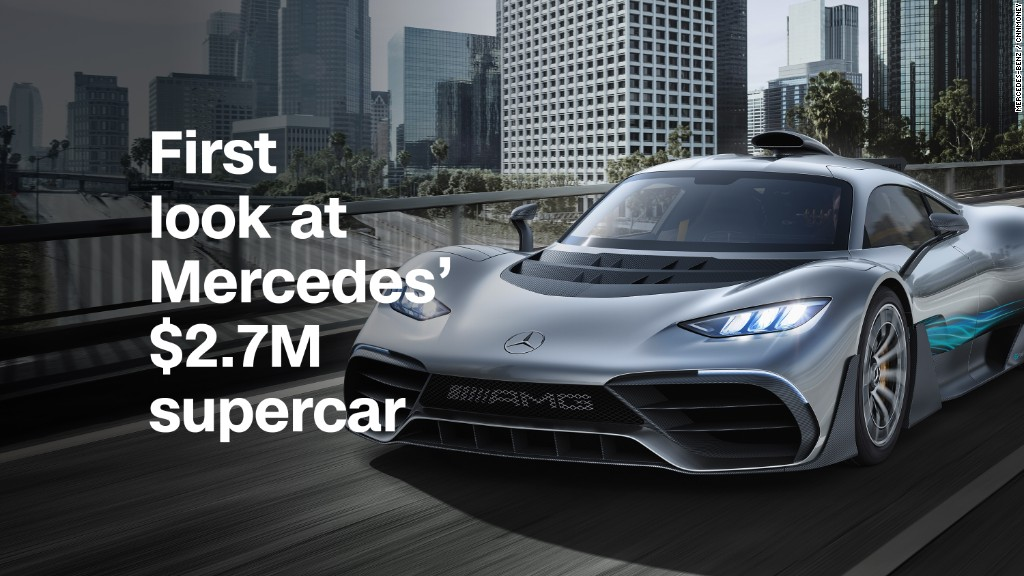 First look at Mercedes' $2.7M supercar