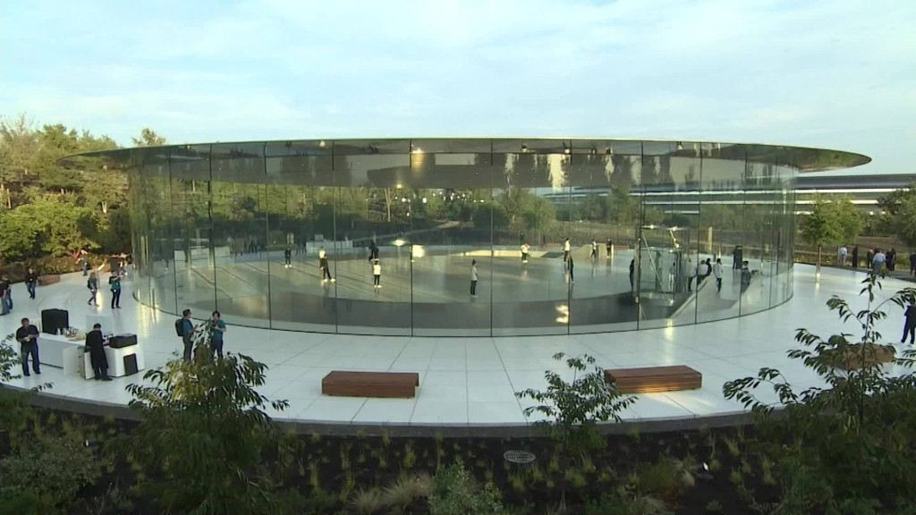 First look inside Apple's Steve Jobs Theater