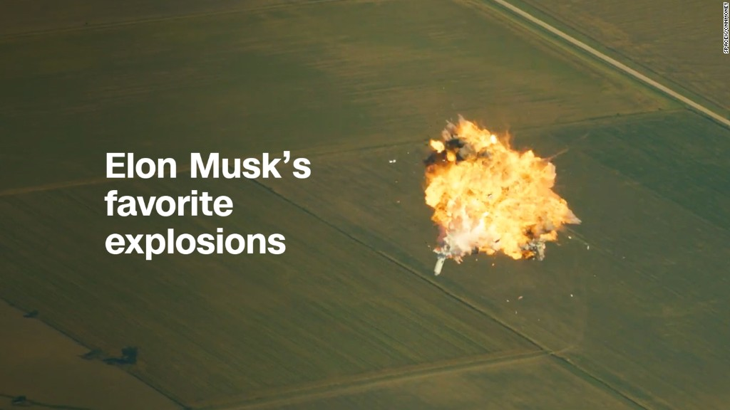 Elon Musk's favorite SpaceX explosions