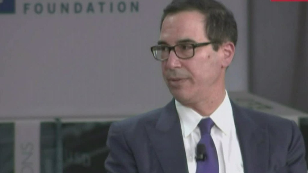 Mnuchin: Plane request was about national security, not personal travel