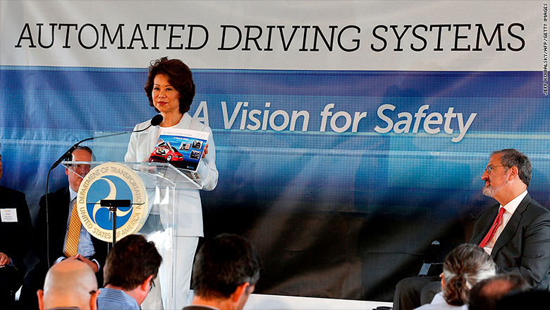 elaine chao automated driving mcity