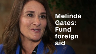 Melinda Gates: #1 thing Trump could do is 'fund things for women'