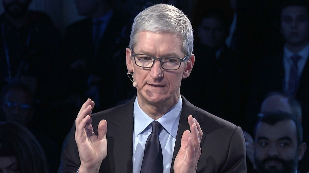 Tim Cook on DACA: This is, 'are we human?'