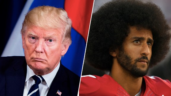 With 'son of a bitch' comments, Trump tried to divide NFL and its players