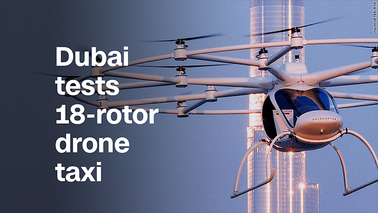 video title dubai drone taxi