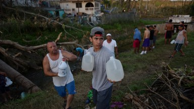 Puerto Rico largely ignored by the media in the wake of Hurricane Maria devastation