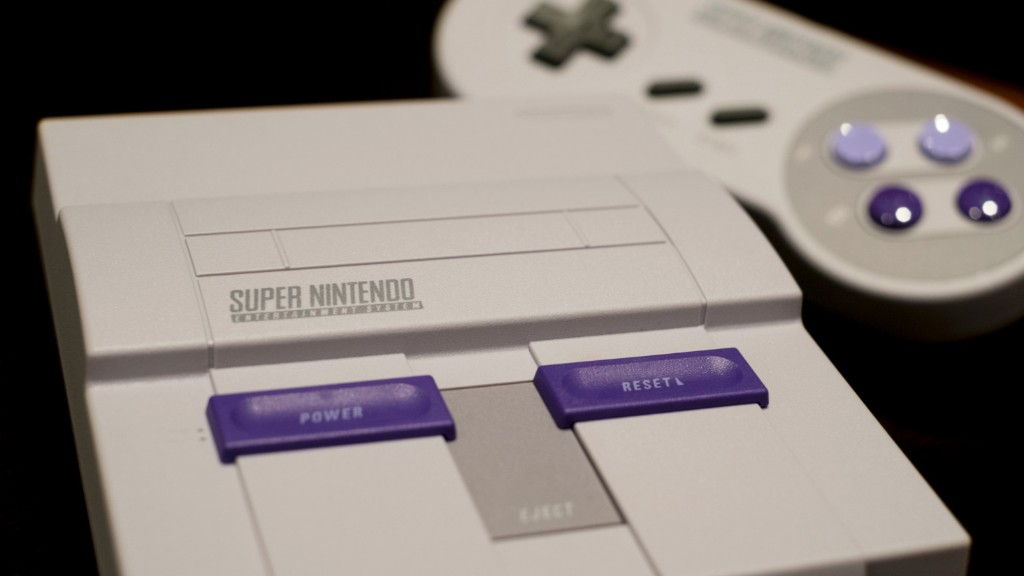 Hands on with the Super Nintendo Classic Edition