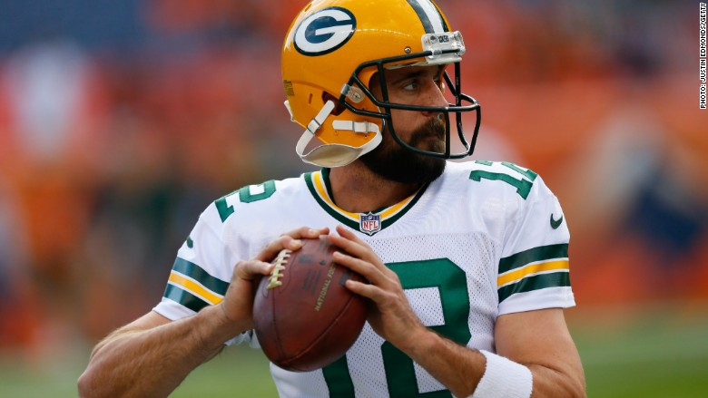 aaron rodgers packers football