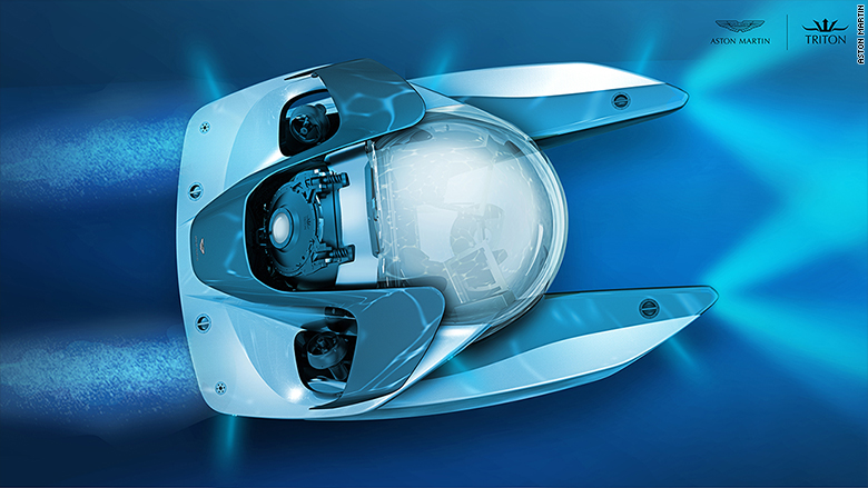 aston martin submarine triton top