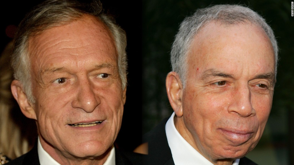 Newhouse and Hefner, the deaths of two legends