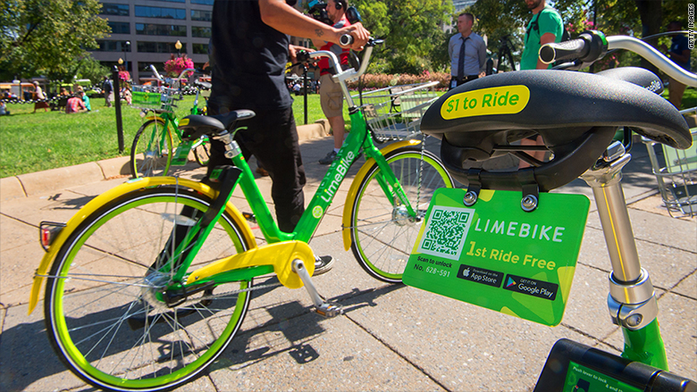 limebike washington dc