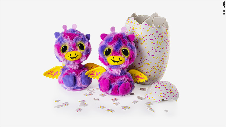 Hatchimals surprise identical twins