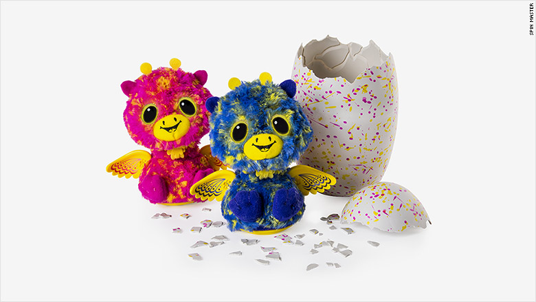 Hatchimals surprise fraternal twins