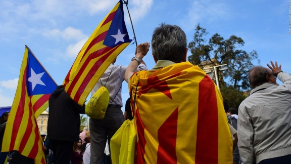 Markets stumble as Catalonia declares independence from Spain