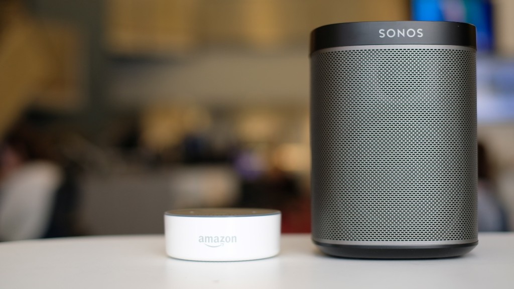 Alexa comes to Sonos speakers