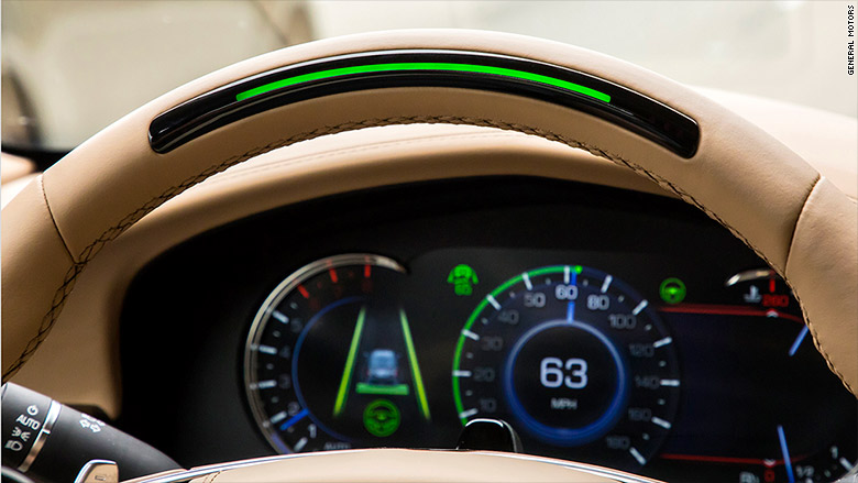 cadillac super cruise steering wheel