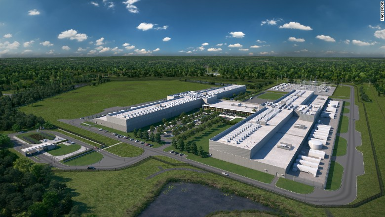 Facebook Invests 1 Billion To Build New Data Center In
