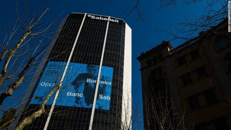 banco de sabadell spanish bank spain catalonia