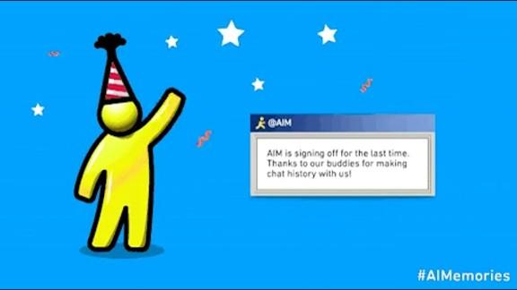RIP AOL Instant Messenger