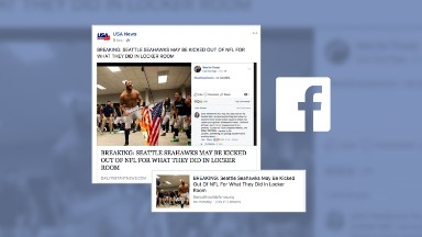 Fake NFL story continues to find haven on Facebook days after being debunked