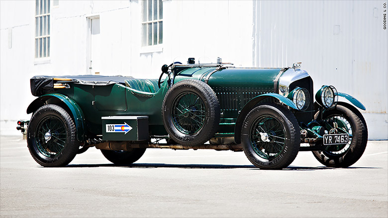 Perfect 1926 Bentley Lemans Sport