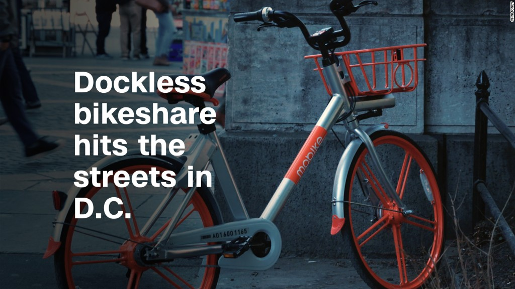 Leave your bike lying on the street with dockless bikeshare