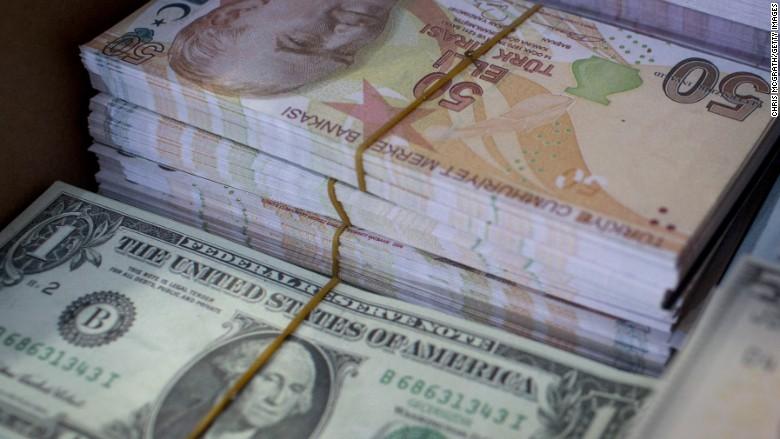 turkish lira dollar