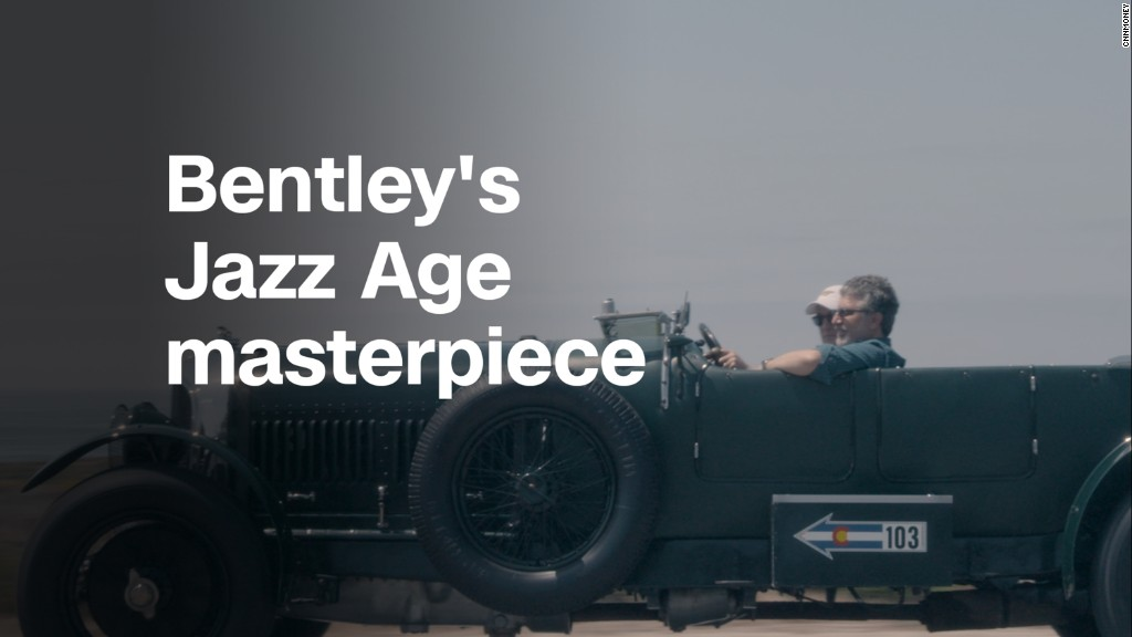 Bentley 'Le Mans Sport ' was a Jazz Age speed demon