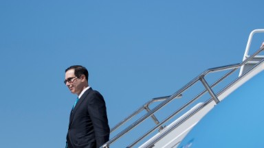 Inspector general says Mnuchin did not fly on government plane to New York