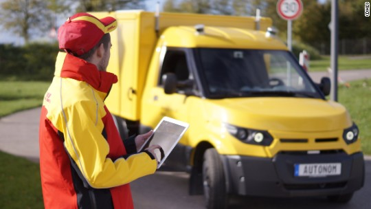 DHL To Test Self Driving Delivery Trucks In 2018