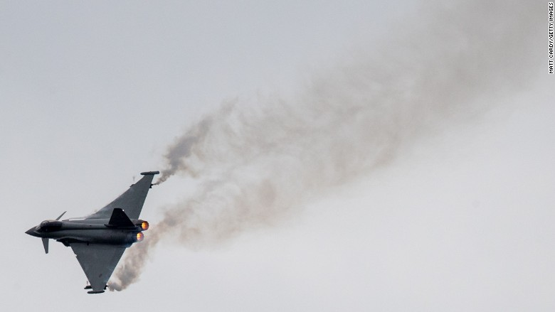 Eurofighter typhoon fighter jet