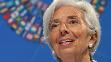 IMF's Lagarde warns US about trade, deficits