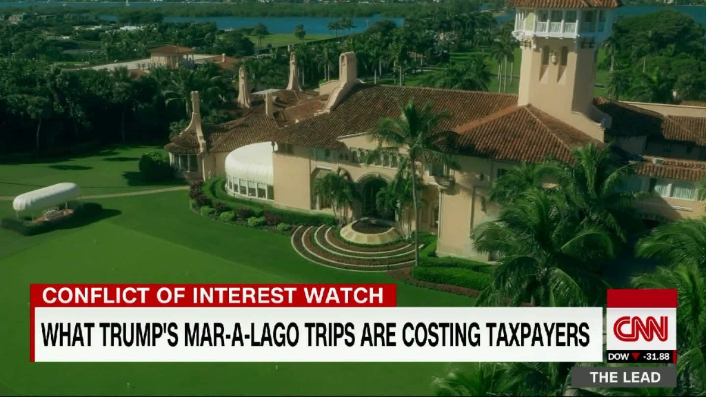 Secret Service paid Mar-a-Lago thousands