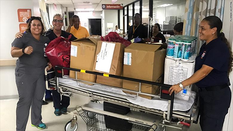 puerto rico emergency doctors gurney