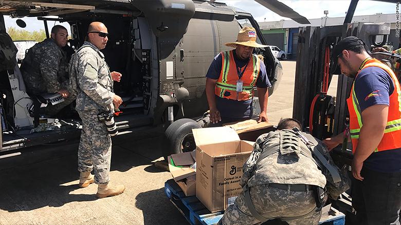puerto rico emergency doctors supplies