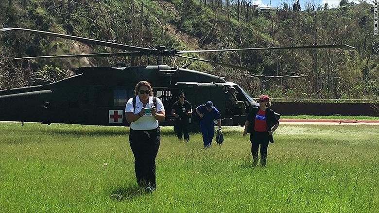 puerto rico emergency doctors black hawk