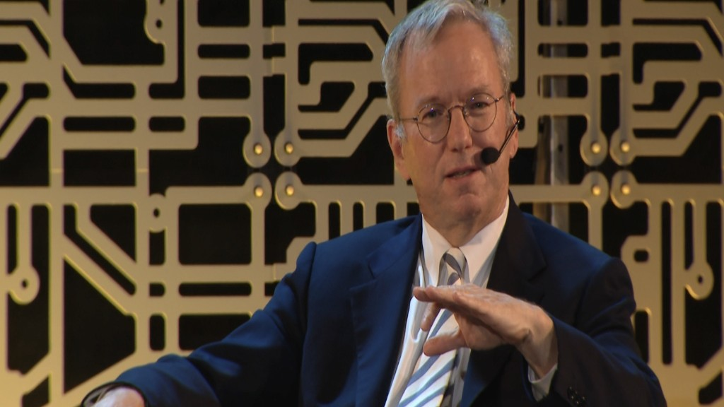 Google's Eric Schmidt: Trump's policies are 'going in the wrong direction'