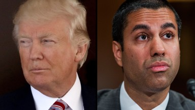 Why is FCC chair silent on Trump's TV threat?