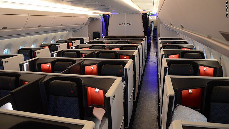 delta A350 Airbus business class 2