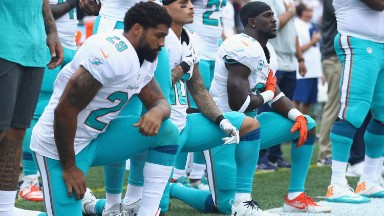 NFL owners gather to discuss National Anthem protests
