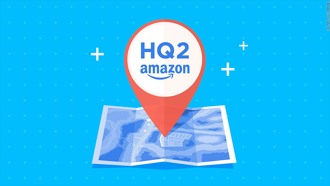Image result for amazon HQ2