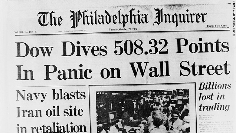 Black Monday 1987 Remembering The Worst Day In Wall