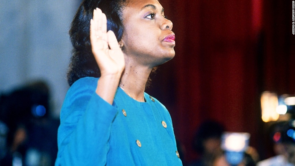 Flashback: Anita Hill's explosive opening statement