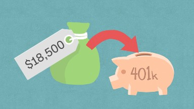401(k) contribution limit will rise to $18,500 next year