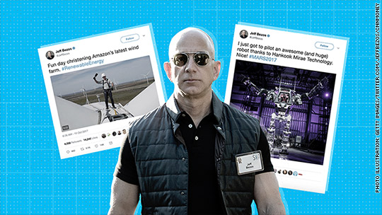 Jeff Bezos Is Having A Moment And He S Not Afraid To Let You Know It