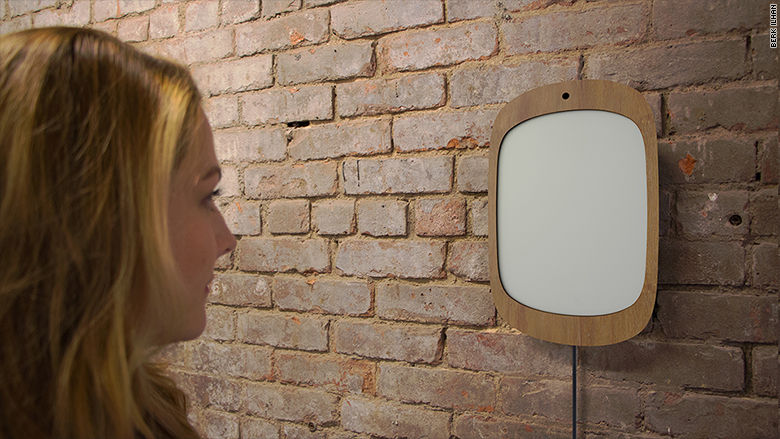 High Tech Mirror For Cancer Patients Only Works If You Smile